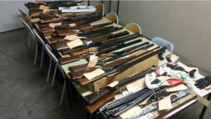 Un important trafic d'armes internaltional démantelé en France