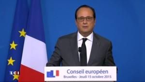 """Hollande : """"Ceux qui prétendent que nous sommes envahis sont des manipulateurs"""""""
