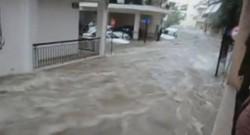 Inondations en Grèce le 24 octobre 2014