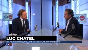 """Réforme du code du Travail : Chatel aimerait que """"Valls parle un peu moins et agisse un peu plus"""""""