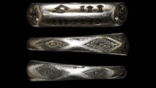 Un anneau de laiton ayant appartenu à Jeanne d'Arc