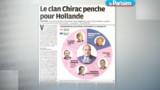 Chirac vote Hollande selon un proche