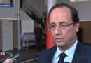 Drame de Toulouse : hommage de Hollande dans une école de la République