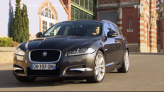 Essai Jaguar XF Sportbrake Automoto 2012