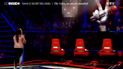 Les premieres images de The Voice Kids diffusées sur 50mn inside le 26/07/2014.