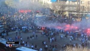 OM/PSG : tensions dans les rues de Marseille