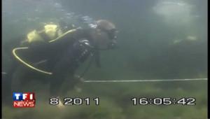 Poutine en nageur sous-marin: les images