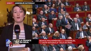 Attentats à Paris : débat houleux entre Valls et Wauquiez à l'Assemblée