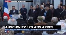 """Hollande : """"la Shoah doit pouvoir être enseignée sans aucune restriction"""""""