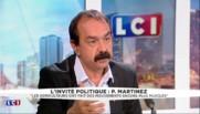 """Martinez : """"Le recul du chômage, une baisse en trompe-l'oeil"""""""