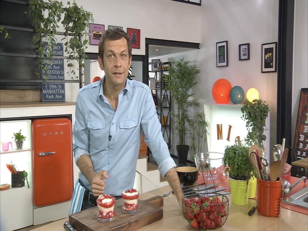 Trifle aux fraises menthol petits plats en equilibre mytf1 - Mytf1 petit plat en equilibre ...