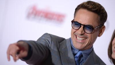 Robert Downey Jr. à l'avant-première Avengers : l'ère d'Ultron
