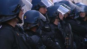 TF1/LCI CRS Sorbonne évacuation université
