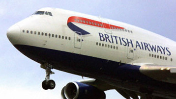 TF1/LCI : Un appareil de de British Airways