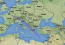 Un vol EgyptAir Paris-Le Caire disparait en Méditerranée : la carte du plan de vol