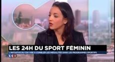 """24h du sport féminin : """"Il faut faire aussi bien voir mieux que les hommes"""""""