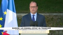 "Burkini : Hollande prône ""ni provocation, ni stigmatisation"""