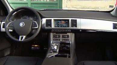 Essai Jaguar XF Sportbrake Automoto 2012