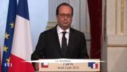 """François Hollande sur les inondations : """"Nous devons agir à l'échelle du monde"""""""