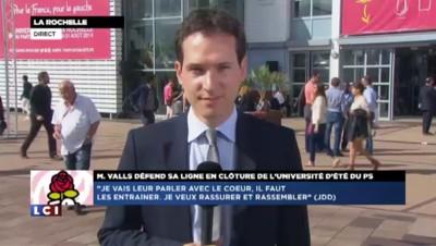 La Rochelle : Valls attendu au tournant par une partie du PS