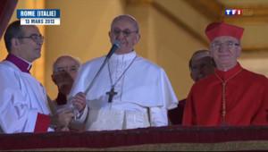 Le 13 heures du 13 mars 2014 : Le pape Fran�s super star chez les catholiques - 518.305