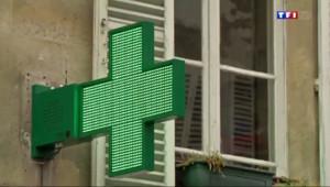Le 13 heures du 22 août 2014 : Les pharmaciens contre la r�rme de la vente des m�caments - 659.038