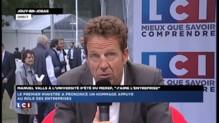 """""""Le pacte de responsabilité est nécessaire mais pas suffisant"""" selon Geoffroy Roux de Bézieux"""
