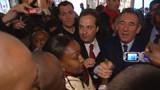 "Dans le ""9-3"", ""Bayrou président, Bayrou président !"""