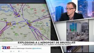 Double explosion à l'aéroport de Bruxelles : tous les avions déroutés, la zone à l'arrêt