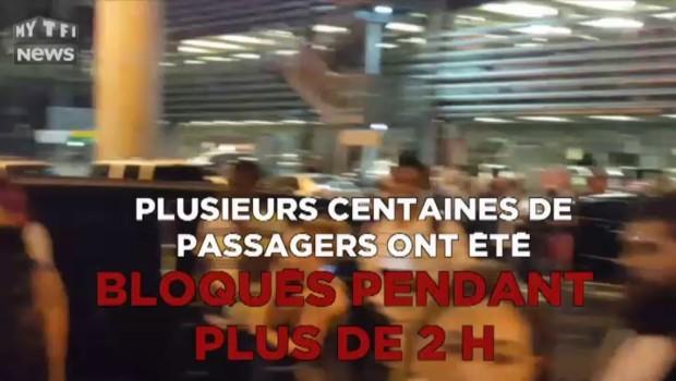 New York : panique à l'aéroport JFK après une fausse alerte, les images amateurs