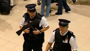 TF1/LCI londres etat alerte policiers aeroports