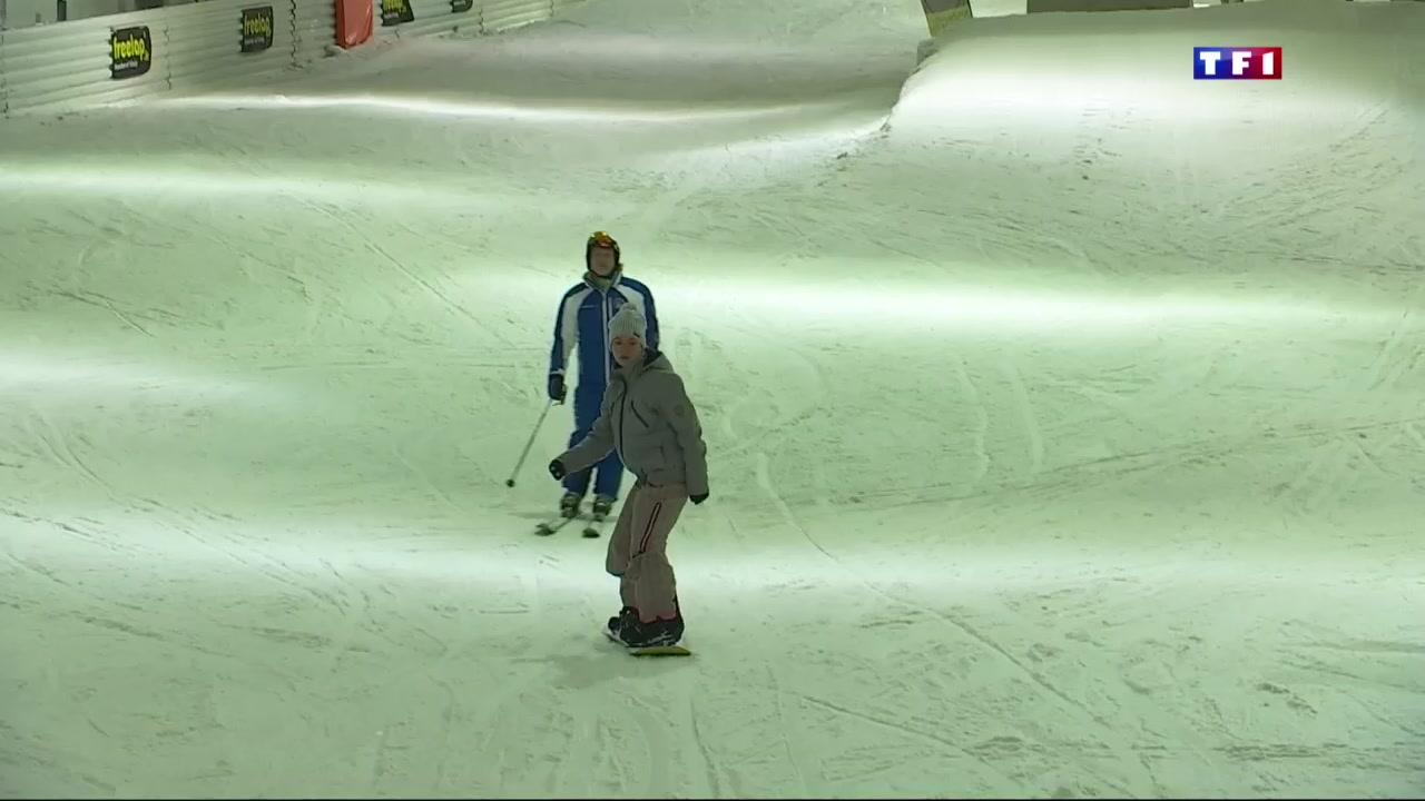 a amn 233 ville le ski en salle attire les foules lci