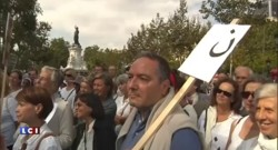 """200 personnes rassemblées à Paris en soutien aux """"chrétiens d'Orient persécutés"""""""