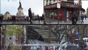 Attentats de Paris : quatre semaines après, le colossal travail de mémoire s'engage