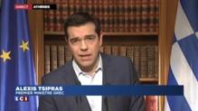 """Crise en Grèce : """"Notre but, c'est continuer les discussions"""" promet Tsipras"""
