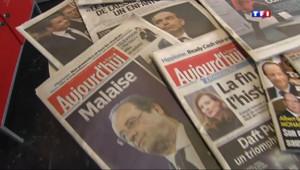Le 13 heures du 13 mars 2014 : Les Fran�s d�ussol�par les affaires politiques - 695.017