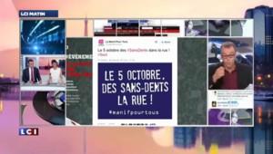 """Les mécontents de Hollande réunis sous le hashtag """"sans-dents"""""""