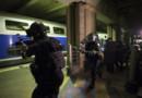 Simulation d'attentat grandeur nature dans la gare Montparnasse à Paris, le 20/04/16