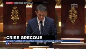 """Valls : """"La France et le président de la République ne ménagent pas leur efforts"""""""
