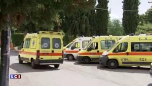 A cause de la crise, 1 ambulance sur 2 est hors-service à Athènes