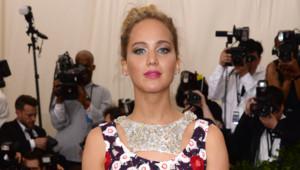 Jennifer Lawrence lors du gala du Met à New York en mai 2015