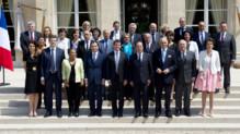 Le gouvernement Valls au grand complet le 18 juin 2014