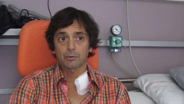 Mark Moogalian, l'un des passagers ayant tenté d'arrêter Ayoub El Khazzani qui voulait commettre un attentat dans el Thalys