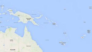 Un séisme de magnitude 7,6 a étéenregistré dimanche matin près des îles Salomon, dans lesud-ouest du Pacifique