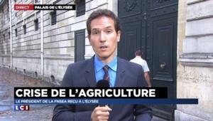 Crise agricole : le président de la FNSEA reçu à l'Elysée ce lundi