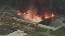 États-Unis : incendie Cleveland (06/07)