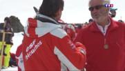 Hautes-Savoie : les moniteurs de l'Ecole de ski français s'affrontent dans la bonne humeur