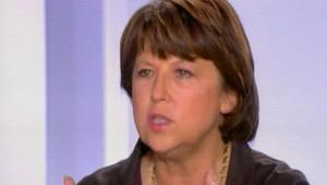 Martine Aubry Canal +