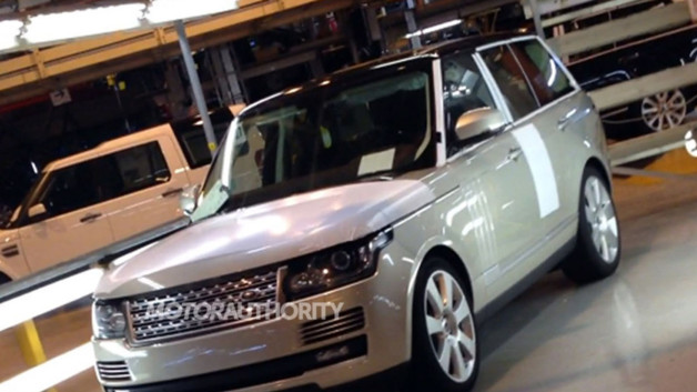 Range Rover 2012 Scoop