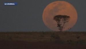 Super Lune vue du monde
